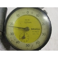 Lot of 3 Mitutoyo Dial Indicators NO. 2047-11 and 2046-01