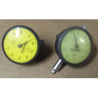 (2) One FEDERAL Indicator Dial Full Jeweled P61 .01mm & One FEDERAL  C21 .0001""