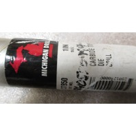 """MICHIGAN DRILL CT850 1"""" CARB TIP DIE DRILL"""