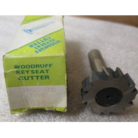 Woodruff Keyseat Cutter Staggered Type 1210