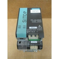 Siemens- SITOP, 6EP1 333-3BA00 Power Supply