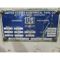 """US Electrical Tool Co Model# 66  20"""" Heavy Duty Double End Grinder"""