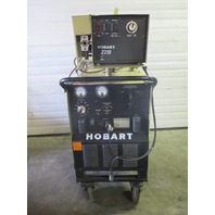 HOBART RC-301 WELDER 300 AMP WITH HOBART 2210 WIRE FEEDER
