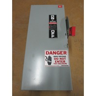 GE DISCONNECT CAT#TH3362 60A 600V 3POLE Fusible