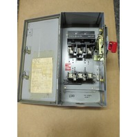GE 60Amp Safety Switch TH3362J