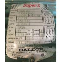Baldor SUPER E Efficient Industrial MOTOR VEM3581T w/ DODGE TIGEAR MOTOR  MR94758L18LB