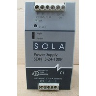 Sola Electric SDN-5-24-100P Power Supply