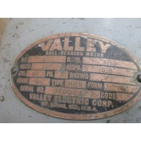 Valley Double Ended Pedestal Grinder Heavy Duty 3 Phase 2Hp 220V