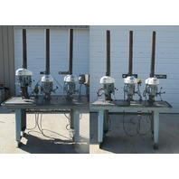 "6-Head 1/2 HP 17"" Delta / Rockwell 17-600 Production Drill Press"