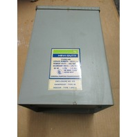 General Signal Hevi- Duty HS1F1.5A Transformer 1.5 KVA 1 PH