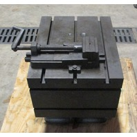 """Summit Tilting Type Box Table for Radial Drill w/ 5"""" Machine Vise"""