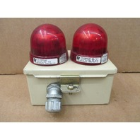 HOFFMAN A-604CH SPL WITH ATTACHED RED INDICATOR LIGHTS LP2 StreamLine
