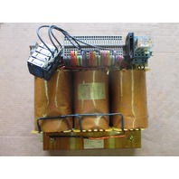 ELSUND 3HAB5192-1, 30103-901 Transformer, 8100VA, PRIM 380-475, TYPE BBCB