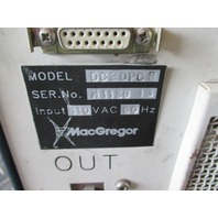 MacGregor Welding Power Supply DC20PCR