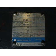 Ingersoll-Rand  SUDP  40 Hp AC Motor 460 V  FR 86TCZ  3530 Rpm  3 Phase