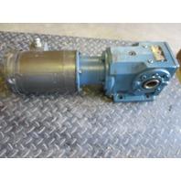BALDOR AC MOTOR  VM3554 1.5HP Sew Eurodrive KA66LP SPEED REDUCER