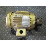 Baldor Super E EM3584T Electric Motor 1 1/2hp 3phase 230/460V 1750Rpm