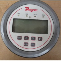 Dwyer DH3-003 Digital Panel Pressure Meter