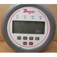 Dwyer DH3-005 Digital Panel Pressure Meter,