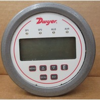 Dwyer DH3-002 Digital Panel Pressure Meter