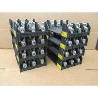 8 Bussmann # R60030-3CR Fuse Blocks, 600V, 30A
