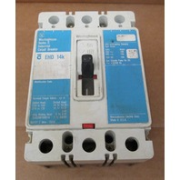 WESTINGHOUSE CIRCUIT BREAKER CAT#EHD3025 25A/480V
