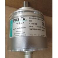 POSITAL FRABA IXARCOCD-SL01G-0812-C100-PAB ENCODER  OCD-SL01G-0812-C100-PAB   4.5 - 30 VDC