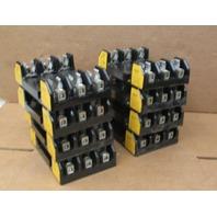 8 Buss / Bussmann # H60030-3CR Fuse Blocks, 600V, 30A