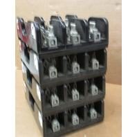 Lot of 4   Taylor Fuse Block Holder Model # 60308, 3P 30A 600V