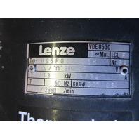 Lenze A-4470 Gear Box 12.622.16.2 with Motor B9SFG42-005 H