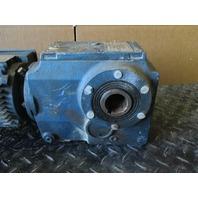 Sew-Eurodrive DFT71D6 Gear Motor .33HP 1100 RPM 230/460V with KA46TDT71D6 Reducer