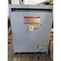 General Electric 9T23B3001 Transformer 45KVA HV 480 LV 120/69.5