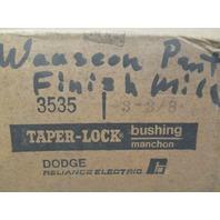 """DODGE 3535 Taper - Lock bushing bearing  3 - 3/8"""""""