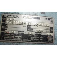 SEW-EURODRIVE K86LP GEAR REDUCER  w/ BALDOR MOTOR VM3558T HP 2