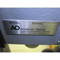 America Optical 3003 MONOCULAR MICROSCOPE Service Physical Testers Unit M8
