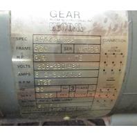 BALDOR  GUTF-B GEAR MOTOR  w/ OHIO GEAR REDUCER RPM 1750