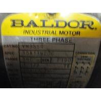 BALDOR  VM3554 GEAR MOTOR w/ SEW-EURODRIVE  X76LP REDUCER RATIO 84.54