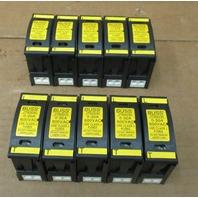 Lot of 10 Buss  JT60030 Fuse Holder 600VAC 30Amp w/Fuses