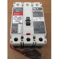 Cutler Hammer HMCP007CDC 7A 600VAC 250VDC 3 Pole Circuit Breaker