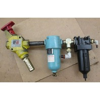 ROSS L-O-X  ENERGY ISOLATION DEVICE MODEL Y1523C4002 W/ FILTER/REGULATOR