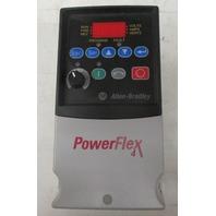 Allen Bradley Power Flex 4  Cat: 22A-D2P3N104  1HP AC Drive