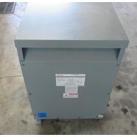 Federal Pacific 30 KVA Transformer Cat: T484T30E  Volts: 480-480Y/277