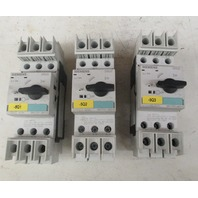 Siemens  3RV1721 4BD10 Current Interrupter  Lot of 3