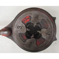 """Rigid 1""""-2"""" rachet pipe threader 65-R W/ Rigid TRIstand 40-A"""