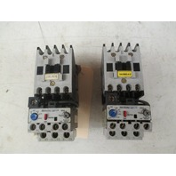 Allen Bradley Series B Contactor  00-09ND3 with overload relay193-A1E1 Lot of 2