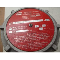 Crouse FSOC3390 hinds Receptacle for use in hazardous locations   3W 4P 30amp  600VAC