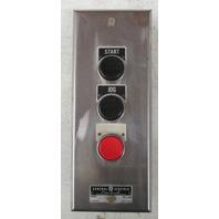 GE three button control CR2943