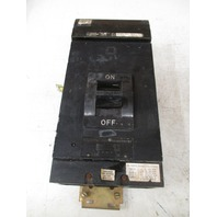 Square D Used  LA-2625-BC 600VAC 250VDC 2 pole circuit breaker