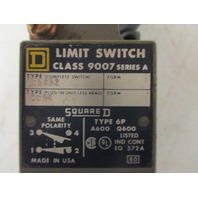 Square D 9007 C54B2 Turret Head  Side Rotary Limit Switch Ser A