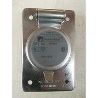 russellstoll receptacle 8003-U-1 20A-125VAC NIB lot of 3